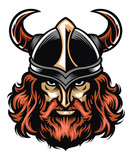 Viking warrior head - 143266766