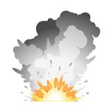 Fototapety Ground Bomb Explosion