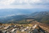 Bieszczady, widok ze szczytu Tarnica