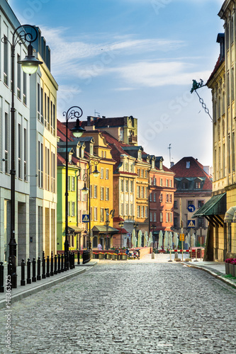 Fototapeta Old Town Warsaw