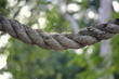 Rope A braid of sturdy rope