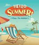Summer holiday. Enjoy the holidays. - 143394150
