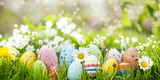 beautiful easter banner - 143399395