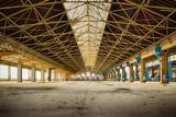 industriel, friches,vintage,usine,entrepôt,structures métalliques,docks,abandonné,vide,vitres,