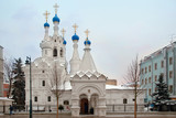 Temple of the Nativity of the Blessed Virgin Mary. Moscow, Russia