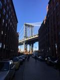 DUMBO - Down under Manhattan Bridge New York City