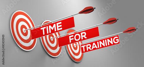 Time for training / Zeit für Ausbildung