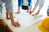 Construction engineer teamwork - 143439928