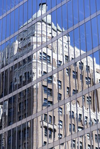 Vancouver Skyscraper Reflection - 143439911