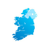 Ireland Cities Map