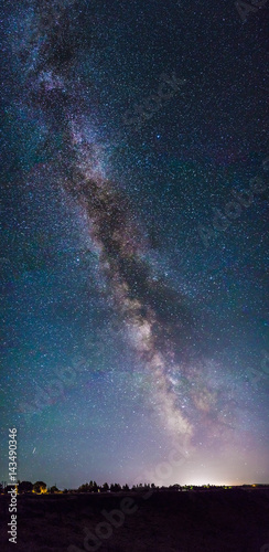 Poster Milky Way Portrait