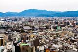 京都タワーから見た京都の街並み