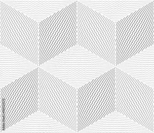 Seamless geometric op art pattern. - 143523572