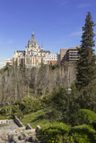 Cathedral of the Almudena. Madrid. Spain.