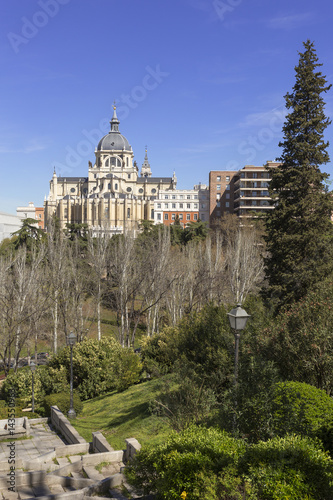 Cathedral of the Almudena. Madrid. Spain. Poster