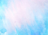 abstract blue watercolor paper