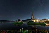 Pura Ulun Danu Bratan at night