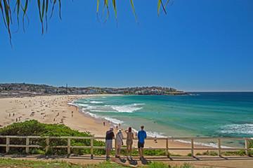 Blick auf den legendären Bondi Beach