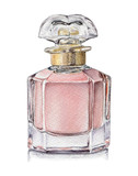 Watercolor illustration of Perfume in glass bottle - 143585323