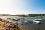 Sanitja Natural Port in Menorca. Spain - 143586322
