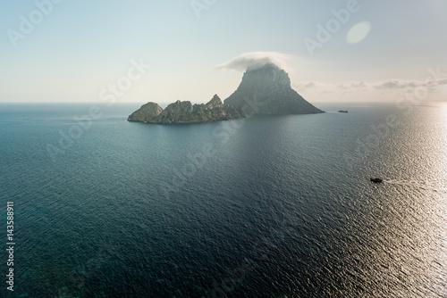 Es Vedrà view in Ibiza. Spain