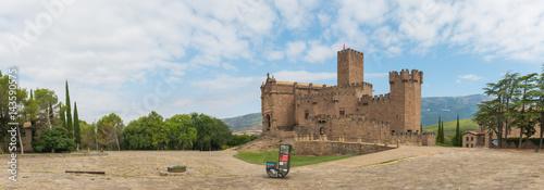Castle of Xavier, Navarra. Spain