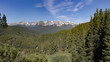 Colorado Rocky Mountains - panorama