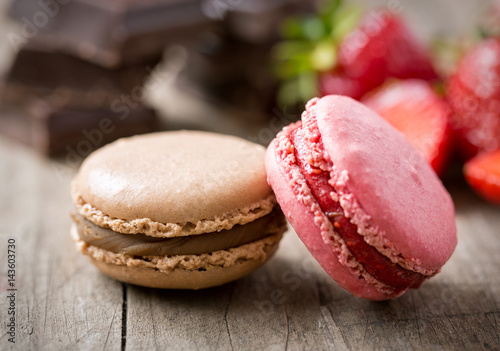 sweet french macaron. Poster