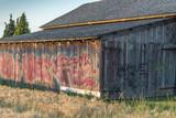Barn With Graffiti
