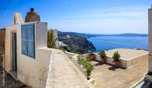 Santorini island, Greece - Caldera view
