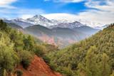 Panorama im Atlasgebirge in Marokko