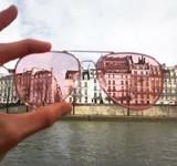 occhiali rosa parigi