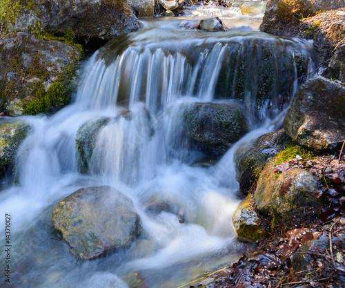Wasserfall Langzeitbelichtung  - 143710127