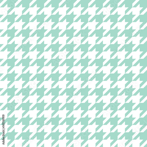 Seamless houndstooth pattern. Vector image. - 143769919