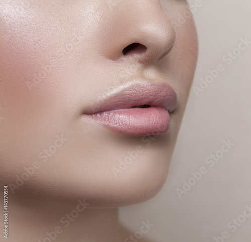 female lips Плакат