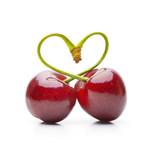 Herz aus Kirschen