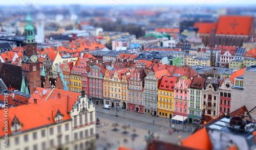 obraz lub plakat Panorama Wroclaw