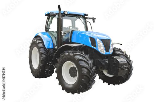 Fotobehang Trekker Agricultural tractor