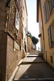 Narrow street of old city at Monaco
