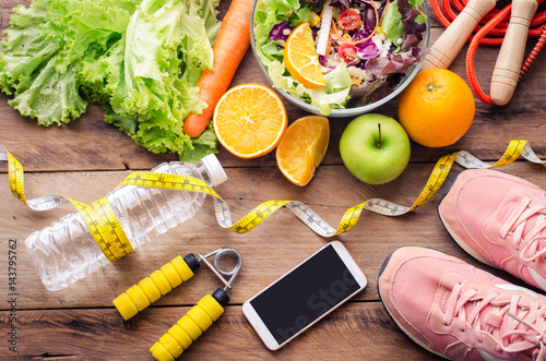 Healthy food and planing for diet