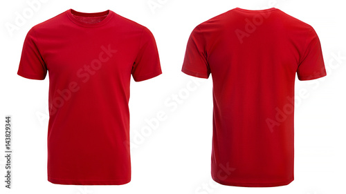 Foto Murales Red t-shirt, clothes