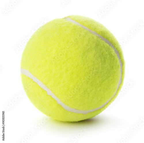 Fotobehang Tennis single tennis ball