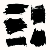Ink Brush Strokes Set - 143903124
