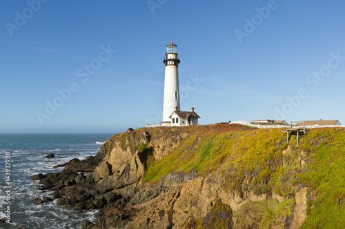 Pigeon Point Lighthouse on California Coast Poster