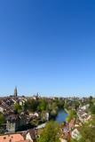 Skyline Bern die Stadt in der Schweiz im Sommer - 143956197