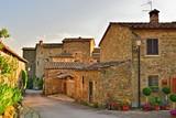 pittoresco borgo medievale di Volpaia, Radda in Chianti, Toscana