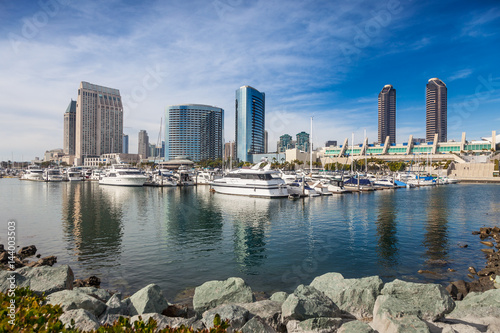San Diego Embarcadero Marina by the Convention Center Poster