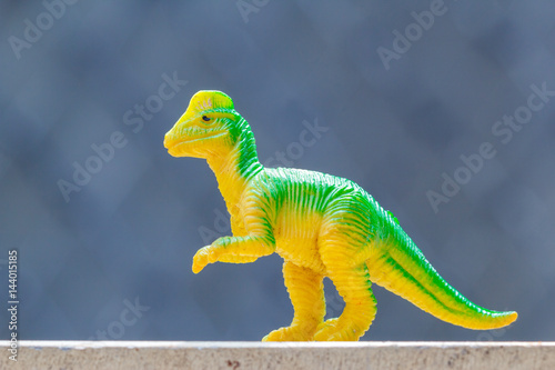 Poster dinosaur toy
