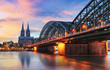 Leinwanddruck Bild - Cologne, Germany