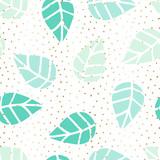 Seamless Leaves Pattern - 144044512